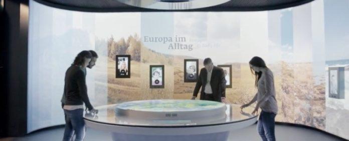 Multimedia-Ausstellung,Erlebnis Europa,Berlin,#VisitBerlin,Freizeit,Unterhaltung,Ausstellung