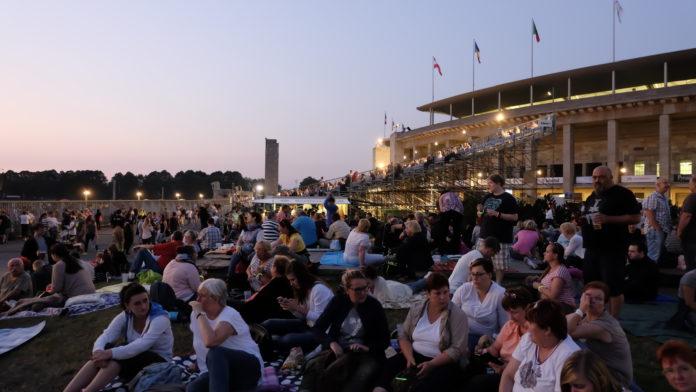 Feuerwerksshow, Pyronale,Event, Berlin, #VisitBerlin,Freizeit, Unterhaltung,Olympiastadion