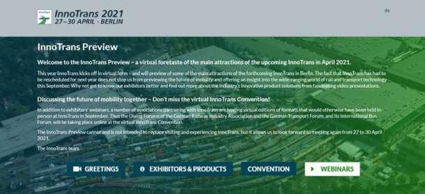 Erfolgreicher Start- InnoTrans Preview stößt auf großes Interesse