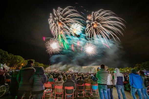 Silvestershow am Brandenburger Tor ohne Zuschauer