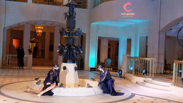 Imposante Fashionshow von Anja Gockel im Adlon