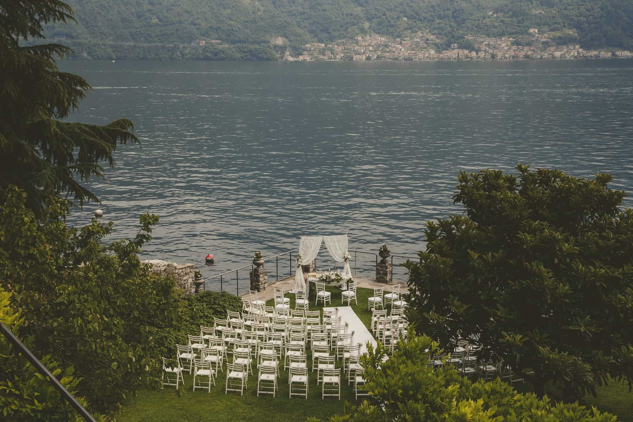 Glam Wedding in Como Lake Eventoile Weddings