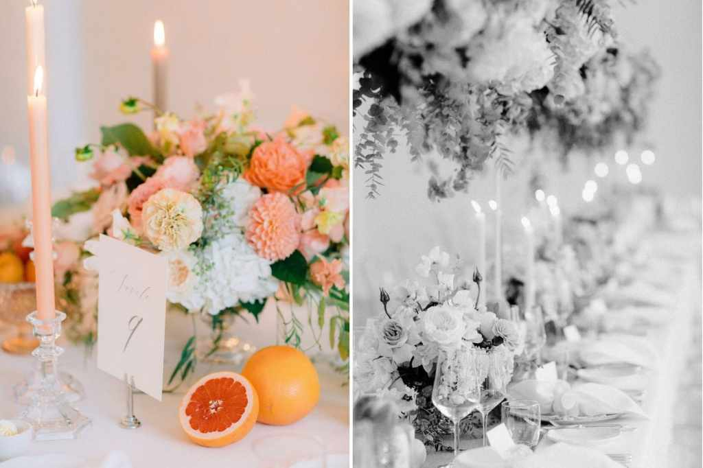 Wedding Reception Design in Lugano, Ticino