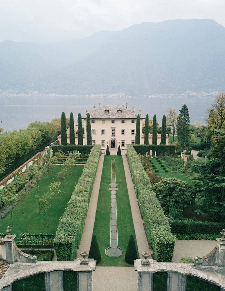 Duke and Bian wedding - Villa Balbiano