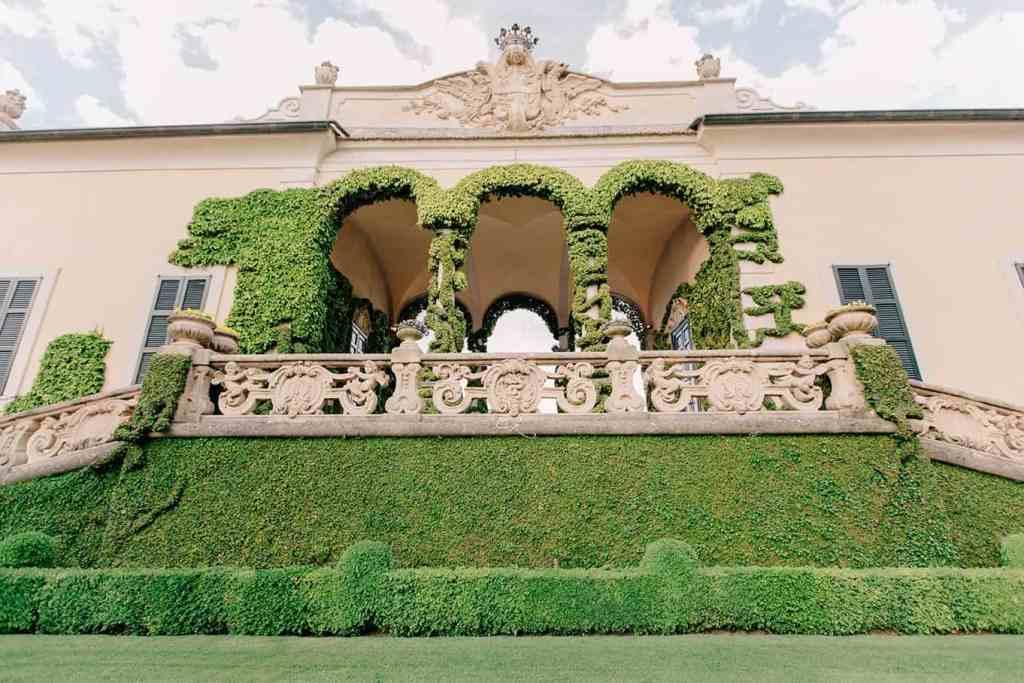 Villa del' Balbianello Loggia Durini