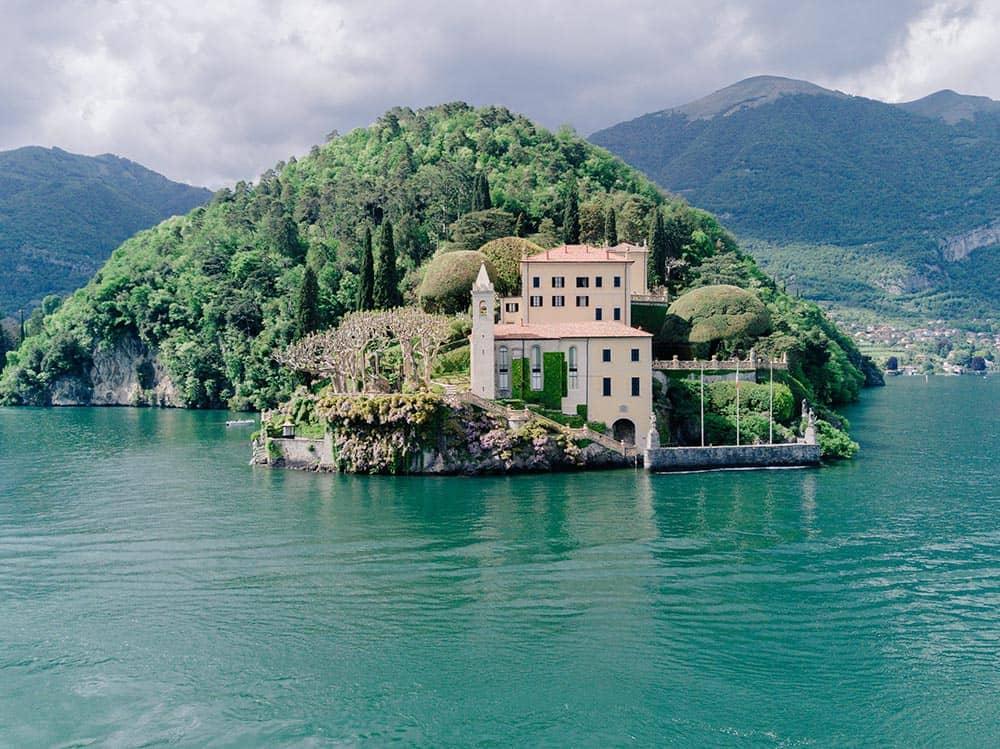 Villa del' Balbianello view