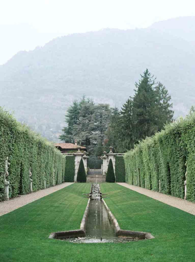 Villa Balbiano garden