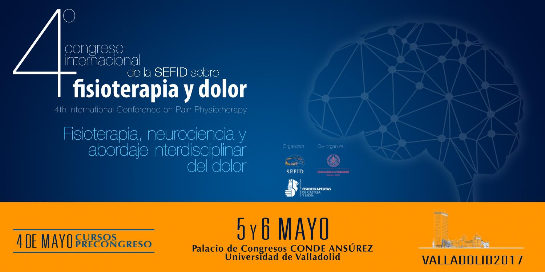 IV CONGRESO INTERNACIONAL DE FISIOTERAPIA Y DOLOR