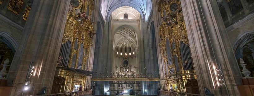 Inauguración de la restauración del órgano del Evangelio - Catedral de Segovia
