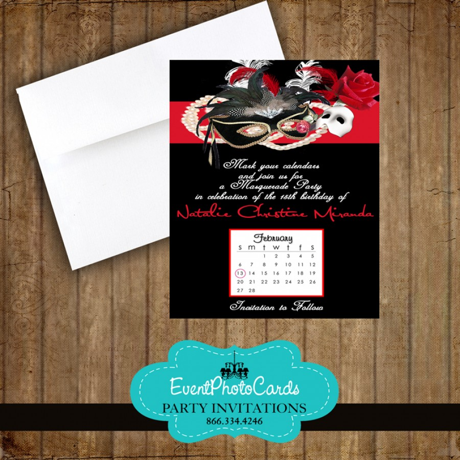 Save Date Cards Reception Only