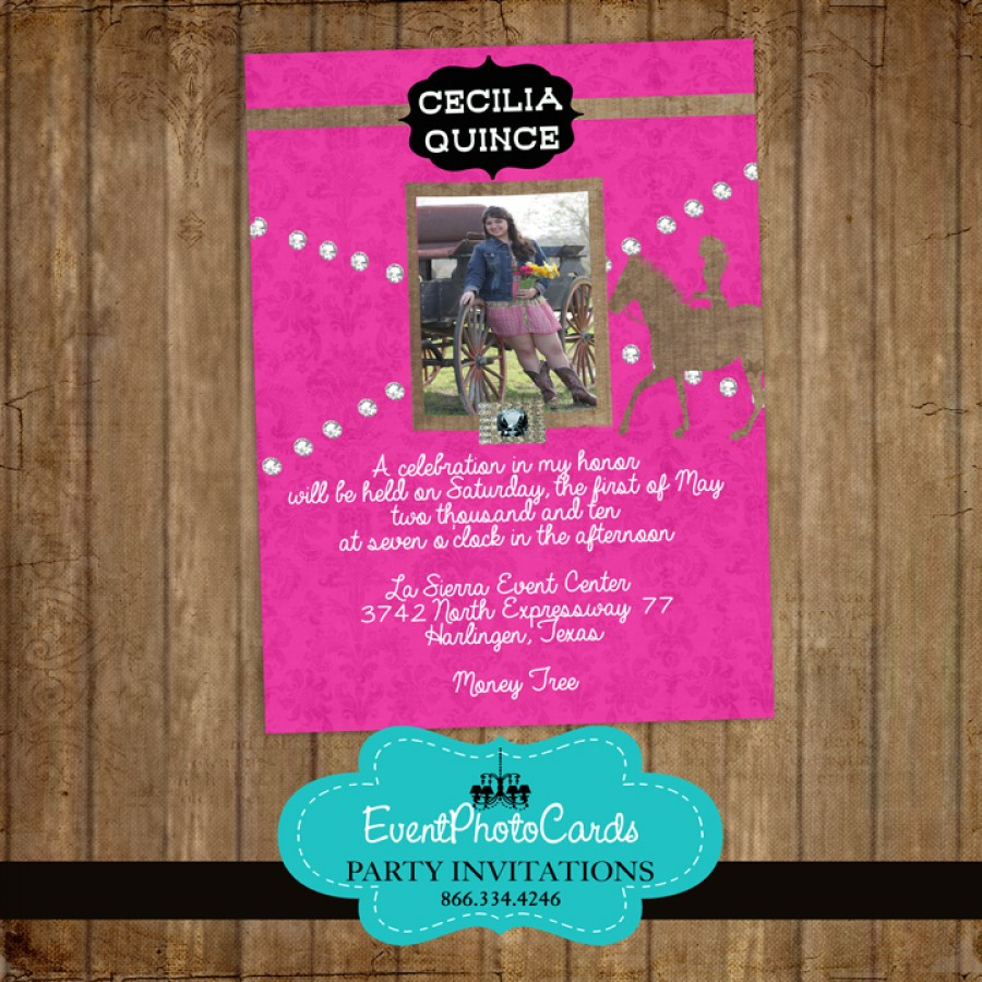 Save Date Cards Quinceanera