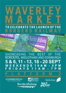 Waverley market A5 flyer & Localmotive