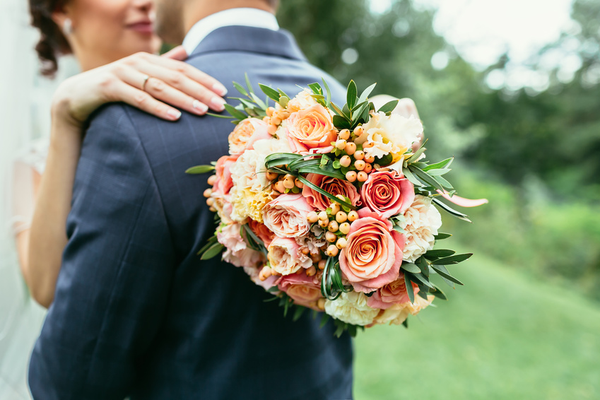 Bridal Bouquet Greenery Accents