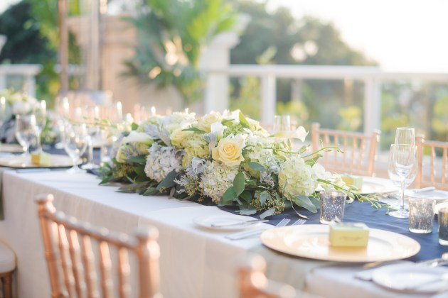 Ceremony and Reception Venue Centerpiece