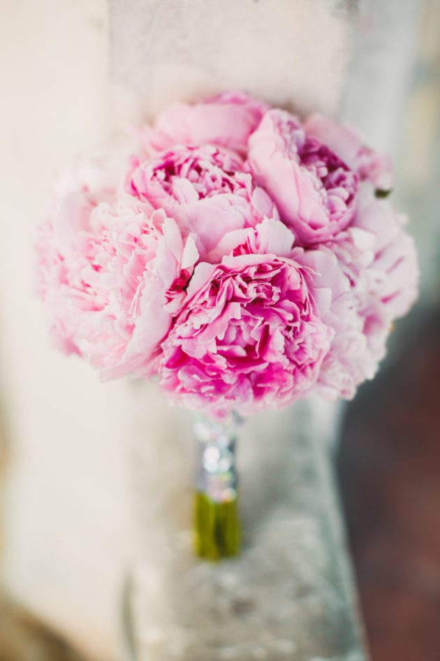 Beautiful Peony Bridal Bouquet