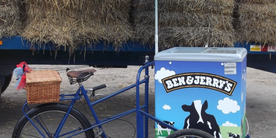 Ben Amp Jerry S Ice Cream Tricycle Mobile Food And Drink