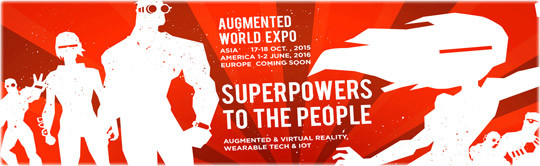 Augmented World Expo 2016 @ TBA