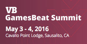 GamesBeat Summit 2016 @ Cavallo Point Lodge