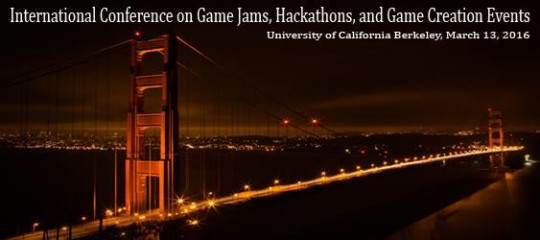 International Conference on Game Jams, Hackathons and Game Creation Events 2016 @ David Brower Center
