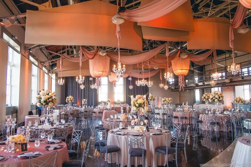 Events Luxe Blush black and bling wedding 18