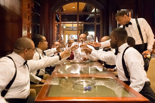 Groomsmen at the Ritz Carlton St. Louis | Events Luxe Weddings