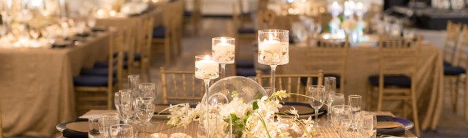 Pascale & Tayo – Old Hollywood Glamour with Navy and Gold