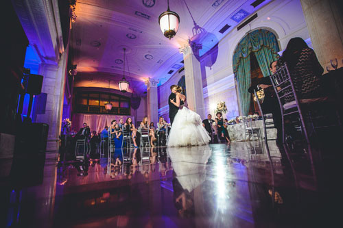 First dance at the Marriott Grand in St. Louis | Events Luxe Weddings