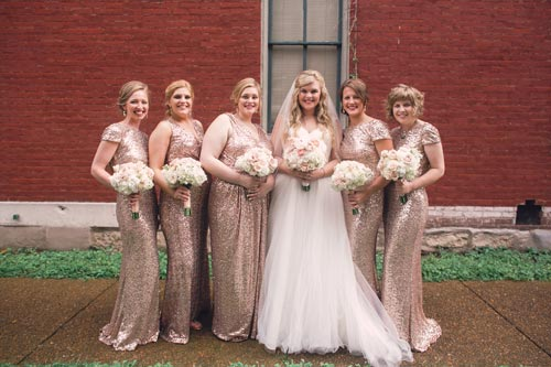 Wedding party kate spade | St. Louis Weddings by Events Luxe