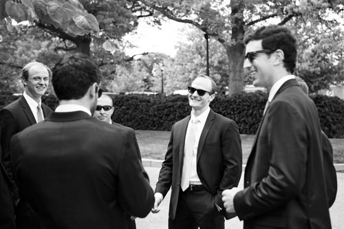 Groomsmen picture at Old Warson Country Club | St. Louis Weddings by Events Luxe