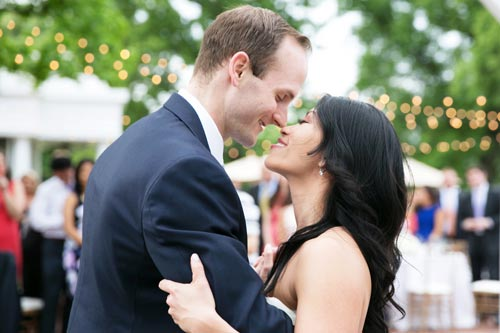 Bride & Groom dance at Old Warson Country Club | St. Louis Weddings by Events Luxe