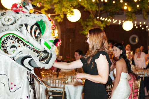 Shaolin Lohan Pai Lion Dance Troupe at Weddings | St. Louis Weddings by Events Luxe