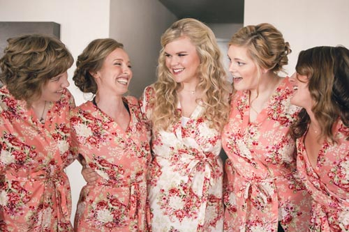 Bridal Party Getting ready | St. Louis Weddings by Events Luxe