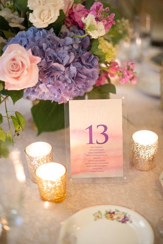 Vintage Wedding Table Numbers | Events Luxe Weddings