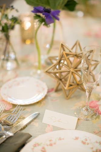 Vintage Boho Chic Wedding Table Settings | Events Luxe Weddings
