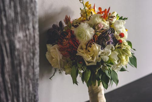 The Crimson Petal Bridal Bouquet | Events Luxe Weddings