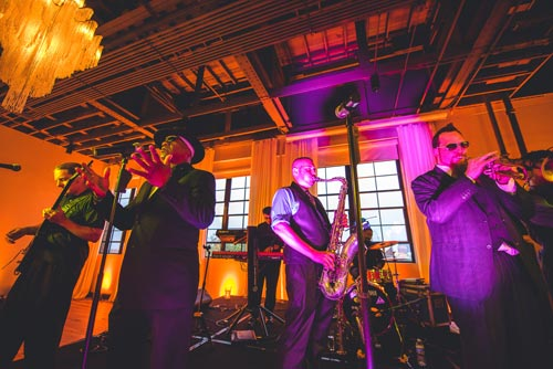 Fat Pocket Band at Caramel Room Wedding | Weddings by Events Luxe