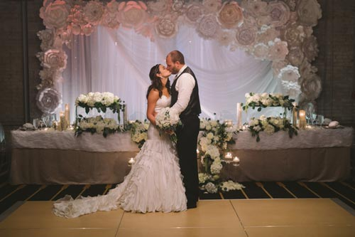 Bride & Groom at The Westin St. Louis | Weddings by Events Luxe