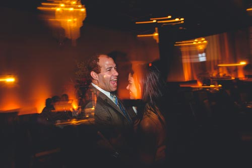 Guests dancing at the Caramel Room Wedding | Events Luxe Wedding