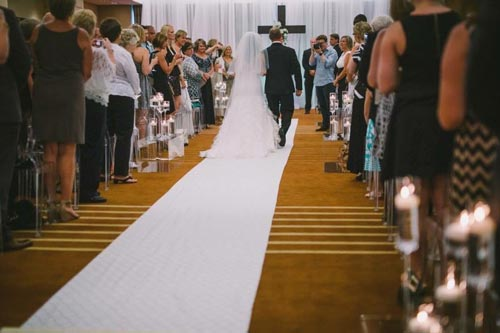Wedding Ceremony at Westin Hotel St. Louis | Weddings by Events Luxe