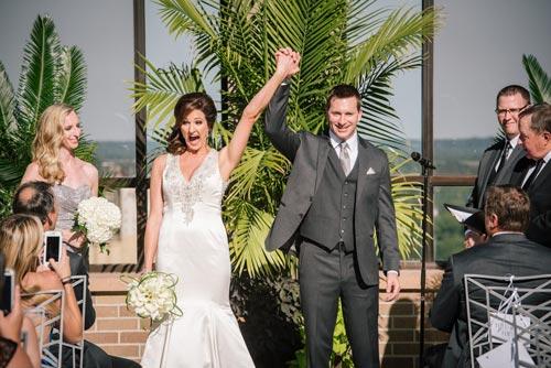 Hyatt Regency Rooftop Wedding | Events Luxe Weddings