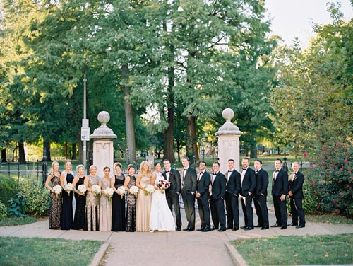 Wedding Party at Lafayette Square | Events Luxe Weddings