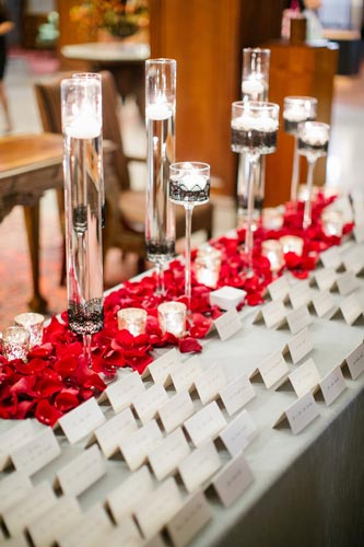 Missouri Athletic Club Table Cards | Events Luxe Weddings