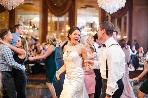 Bride & Groom at Missouri Athletic Club Wedding | Events Luxe Weddings
