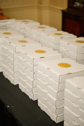 Pizza Wedding Favors | Events Luxe Weddings