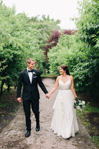Bride & Groom in the Park | Events Luxe Weddings