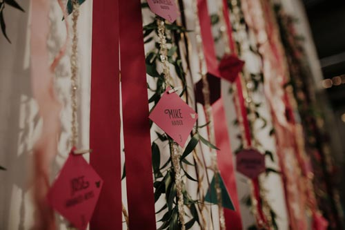 Wedding wishes at Joule | Events Luxe Weddings
