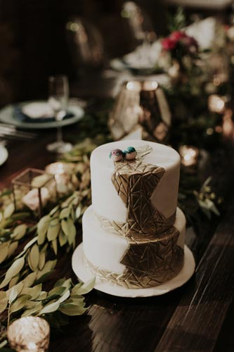 Wedding Cake at Joule | Events Luxe Weddings