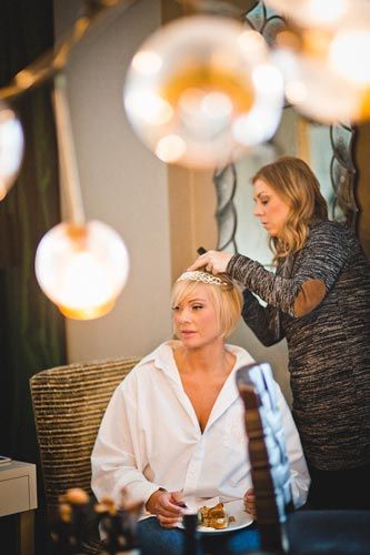 Bride getting ready | Events Luxe Weddings
