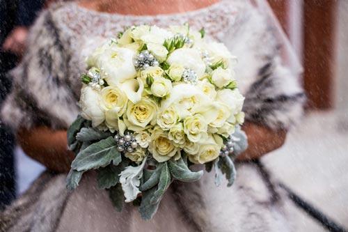 Winter wedding bouquet | Events Luxe Weddings