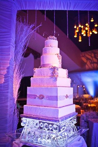 Winter wedding cake | Events Luxe Weddings